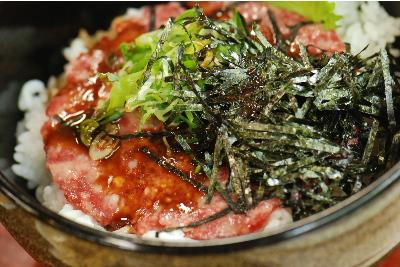牛トロ丼3