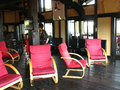 2階の喫茶室