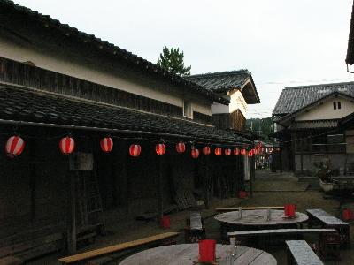 東稲葉さんの中庭