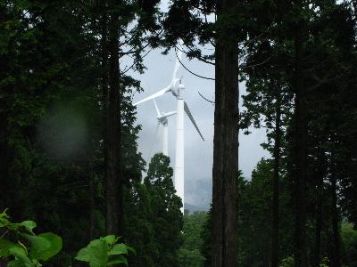 発電の風車2
