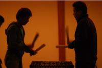 太鼓の練習1