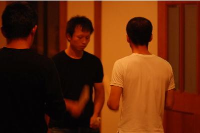 太鼓の練習2