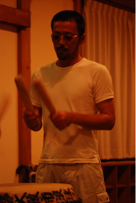 太鼓の練習3