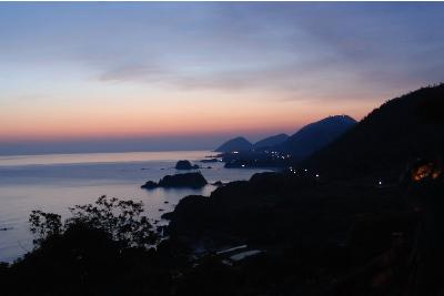 日が昇る前の松島