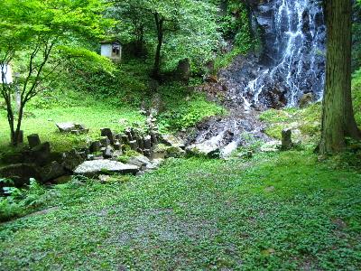滝の周辺の様子2